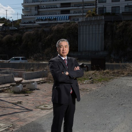Mr. Kato lost his home and his hotel became an emergency evacuation center. But, he considers himself lucky; his family all survived.